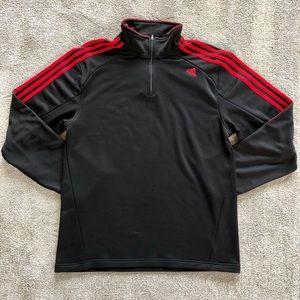 adidas Half Zip Jacket - Men's Large